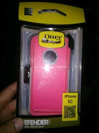 red Otter Box iPhone case Hornell, 14843