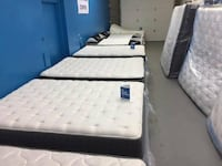 white and black bed mattress Midland
