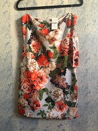 white, red, and black floral sleeveless dress Long Beach, 90805