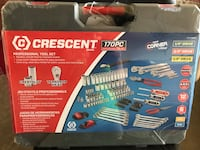 New never opened Crescent brand 170 piece tool set Grande Prairie, T8X 1T8