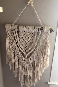 Hand Made Large Macrame Drift Wood Wall Art Honolulu, 96818
