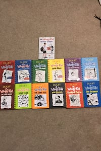 Diary of a wimpy kid collection Hamilton, L0R 1W0