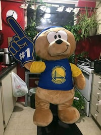 Large Golden State Warriors plushie Toronto, M9R 4B4