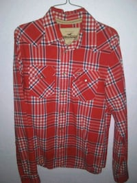 Red Hollister dress shirt 2289 mi