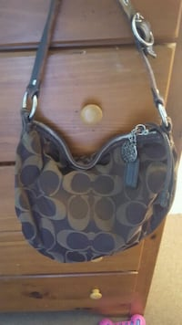 Brown Coach monogram hobo bag McKinleyville, 95519