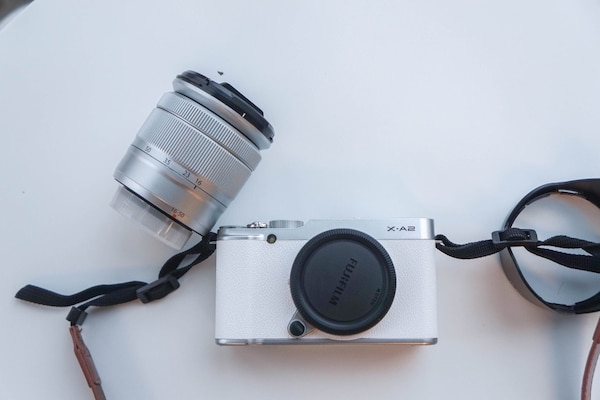 Fujifilm X-A2. Works perfectly fine and in a good condition. I'm selling because I just bought a newer camera!
