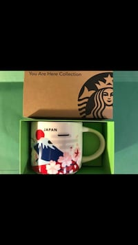 Japan Starbucks You Are Here YAH Collection Mug Vancouver, V5X 1A7