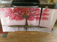 New in plastic 3 PC painting $25 Springtown, 76082