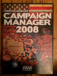 Campaign Manager 2008 Board Game Toronto, M4R 1X6
