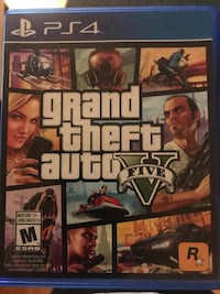 GTA5 GENTLY USED NO DAMAGE  Mississauga, L4X 1V7