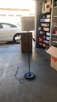 black and gray floor lamp Ontario, 91762