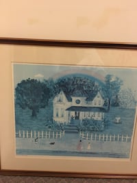 PRINT OF VICTORIAN HOME