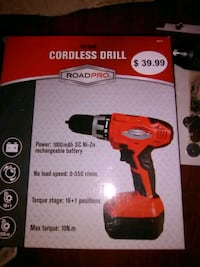 red and black Milwaukee cordless power drill box Tolleson, 85353