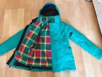 North Face Parka / Jacket, with removable inner jacket, Ladies Small - $150.  Mississauga Mississauga