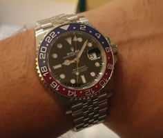 Rolex Watch (superman colors) *New*