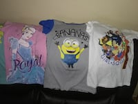 girl's three assorted tops Moreno Valley, 92555