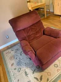 brown fabric recliner sofa chair Bethesda, 20817
