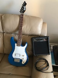 Beginners Electric Guitar with Amp Toronto, M9C 1Z1