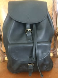 NEW LEATHER BACKPACK -