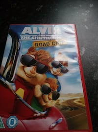 Alvin and The Chipmunks The Road Chip DVD case Wakefield, WF2