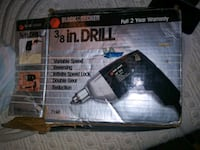 3/8 black and Decker drill Vancouver