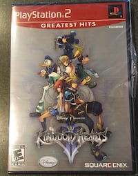 "Disney's ""Kingdom Hearts 2"" for PS2 Columbia, 21046"