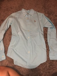 white button-up long-sleeved shirt Cantonment, 32533