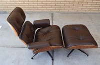 Herman Miller Autentico Eames Lounge And Ottoman 670/671 Brown MILANO