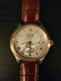 Wenger Watch - Leather Strap (Model 79313C) 32 km