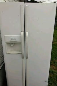 white side-by-side refrigerator Kingsport, 37660