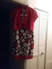 Dress with mini jacket Size 10