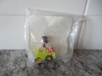 """*New in Package* McDonalds 1989 Peanuts """"Lucy"""" Push and Go Car $5 PU M Morinville"""