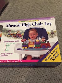 Kids 11, musical high chair toy. Only $15. Was $30+ tax from a nice kids toy store. Vaughan, L4J 5M3