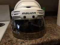 white and black Riddell football helmet Edmonton, T5H 3A1