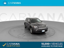 2017 Jeep Compass suv High Altitude Edition Sport Utility 4D Gray