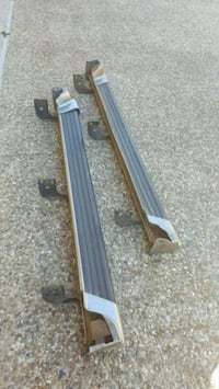 Toyota 4 runner running boards - 2002 1016 mi