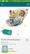 baby's Fisher Price bouncer