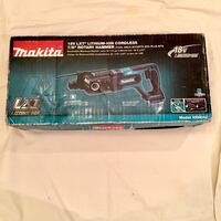 """Brand New Makita 18V LXT Lithium-Ion Cordless 7/8"""" Rotary Hammer (TOOL ONLY)Accepts SDS-PLUS Bits. Model# XRH04Z.  Davie, 33328"""