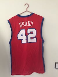 red and blue Brand 42 basketball jersey Waterloo, N2T 1H6