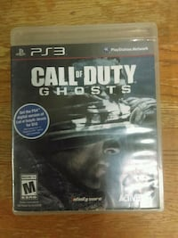 Call of Duty Ghosts PS3 game case Redding, 96002