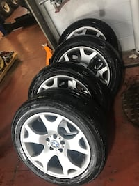 Staggered Fitment BMW X5 Tires/Rims or BO Brampton, L6P 1A5