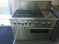 """Thermador 48"""" inch stainless steel gas stove range electric oven Beaverton"""