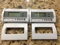 Two Honeywell thermostats. See description. Woodbridge, 22193