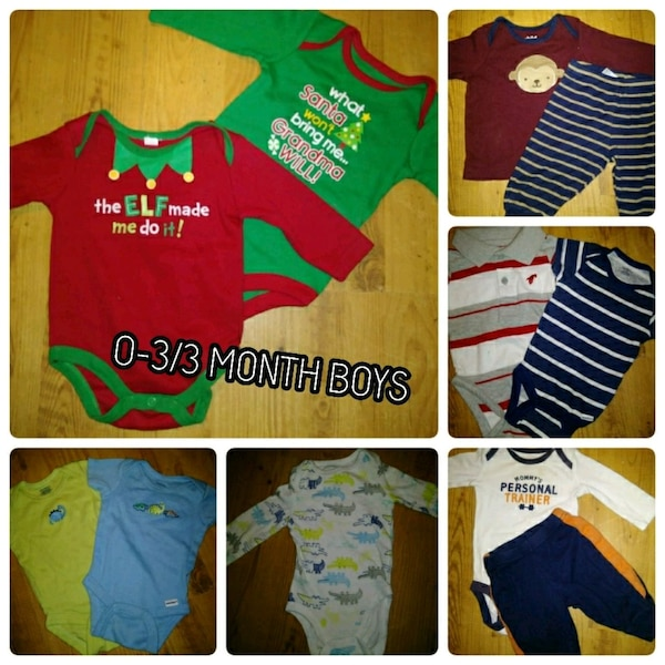 82196c15a166 Used 0-3 3 month boy clothes for sale in Griffin - letgo