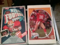 two football player trading cards Rialto, 92376