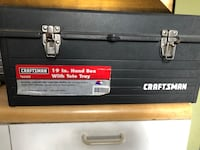 Craftsman 19 inches hand box w/tote tray, Chester, 10918