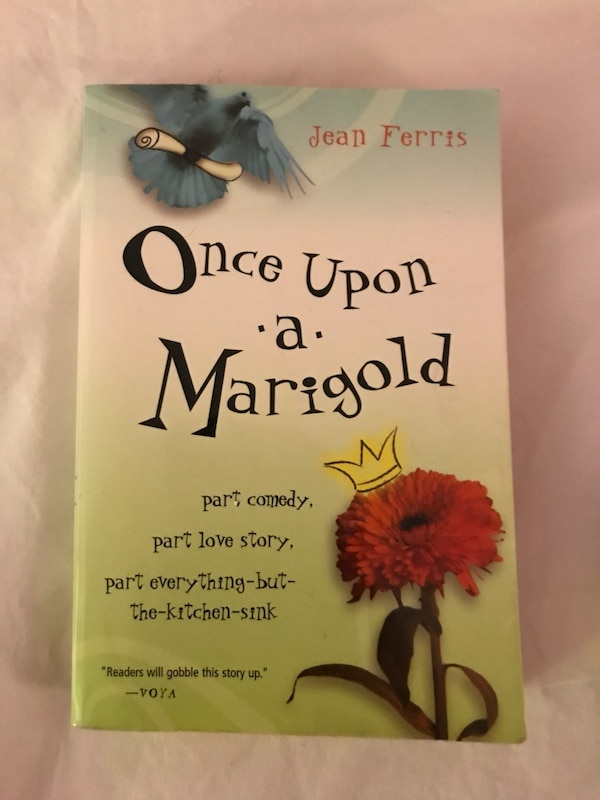 Once upon a marigold by jean ferris book
