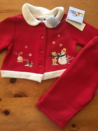 New Disney Holiday Outfit 6-9 month Littleton, 80127