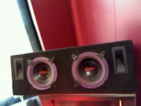 Two eight inch subwoofers in a custom box Athabasca, T9S 1E3