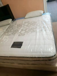 Queen sleeping beauty jumbo eurotop mattress set Los Angeles, 90006